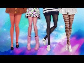 Meia Calça para Barbie | DIY | Cherry Miniaturas