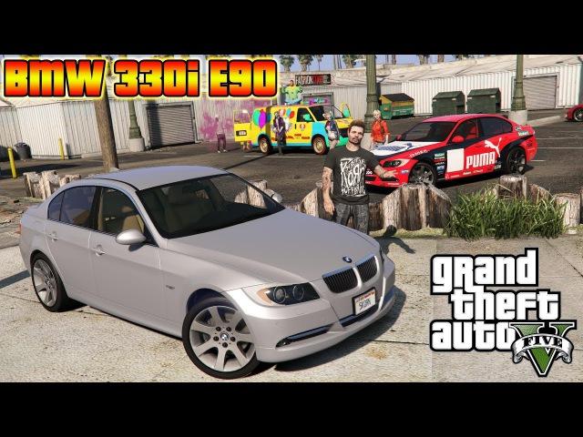 GTA 5: BMW 330i E90 (Cinematic Showcase) (Release)