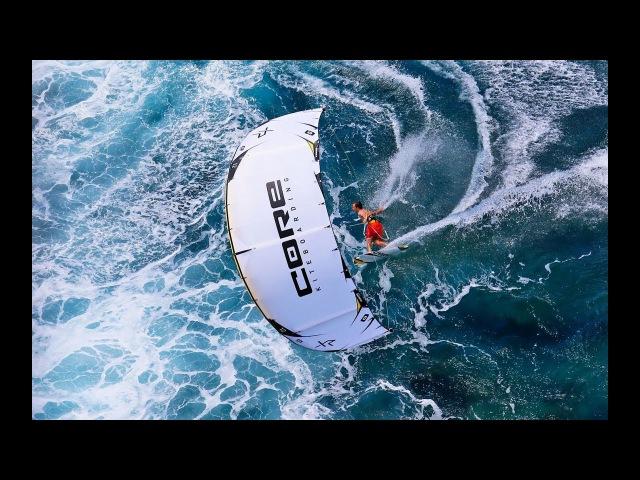 Extreme Kitesurfing in Cloudbreak Maui Indonesia Patri McLaughlin