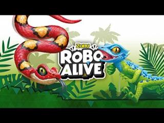 Robo Alive,  Реалистичные  ящерицы и змеи