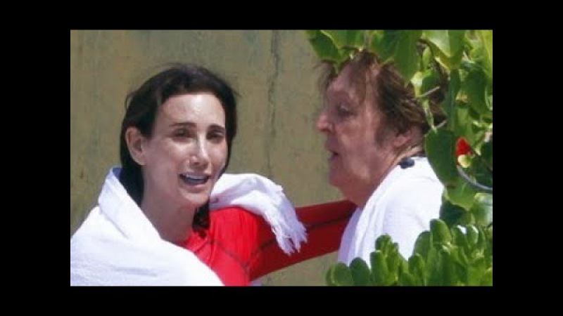♫ Paul McCartney and Nancy Shevell at the beach in St Barts, France 2012 photos