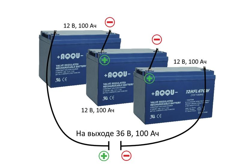 Как подключить аккумуляторы к ИБП, изображение №1