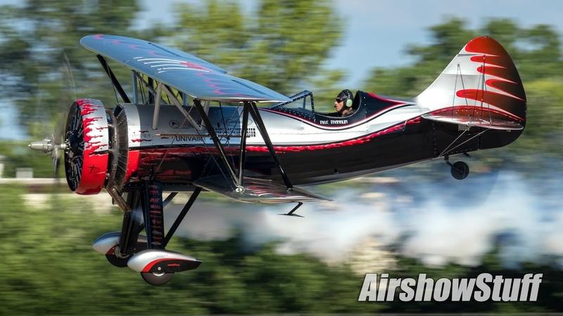 Kyle Franklin Dracula Biplane EAA AirVenture Oshkosh 2018