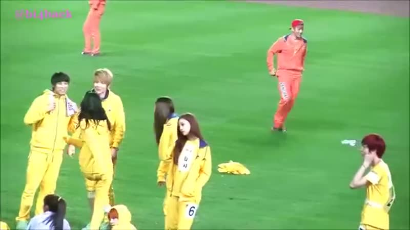 130903 BAEKYUN KAI SEHUN playball@ Idol Star Athletics Champion ISAC