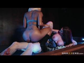 Emma Butt, Kiki Minaj - blacked pole dance boobs busty tattoo blowjob cumshot  минет секс порно sex porn