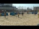 Beach volley Russia 2018 championship fiinal Vityazevo Khudyakov-Bykanov and Myskiv-Kramarenko