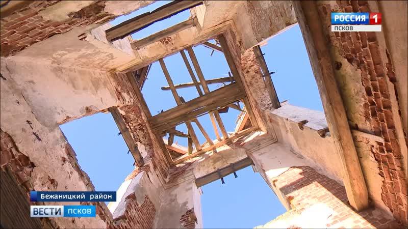 Сердце деревни должно начать биться жители Бежаницкого района восстанавливают храм Рождества Пресвятой Богородицы