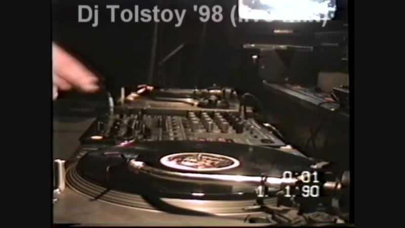 Dj Tolstoy 1998 year live mix