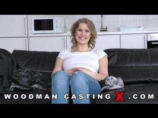 Casey Norhman [анальный порно кастинг, русская студентка дает в жопу Вуди, сосет и глотает сперму, лижет волосатую жопу]
