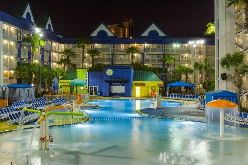 Лучшие отели мира от Soul Travel Holiday Inn Resort Orlando Suites - Waterpark (США), изображение №1