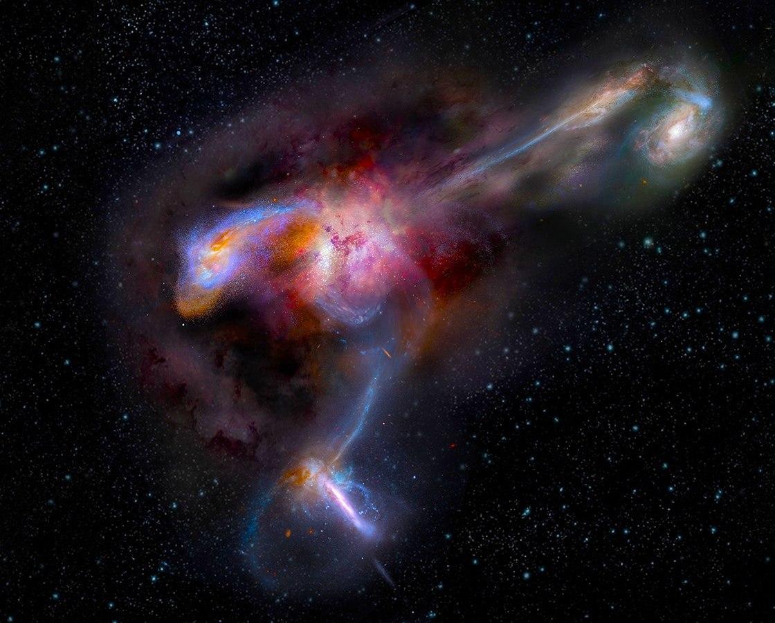 все галактики мира картинки кожи формированию келоидных