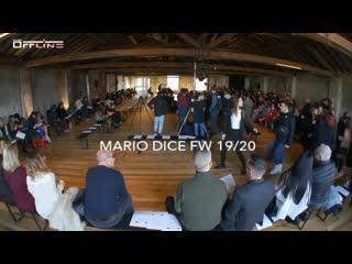 Valeria V. - Mario Dice Runway Show FW 19/20 MILANO