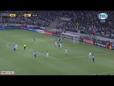 GOL DE RICARDO GOULART! Palmeiras 2 x 0 Melgar - Libertadores 2019
