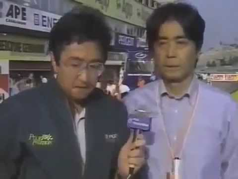 Jornalista japoneses chorando ao anunciar a morte de Ayrton Senna