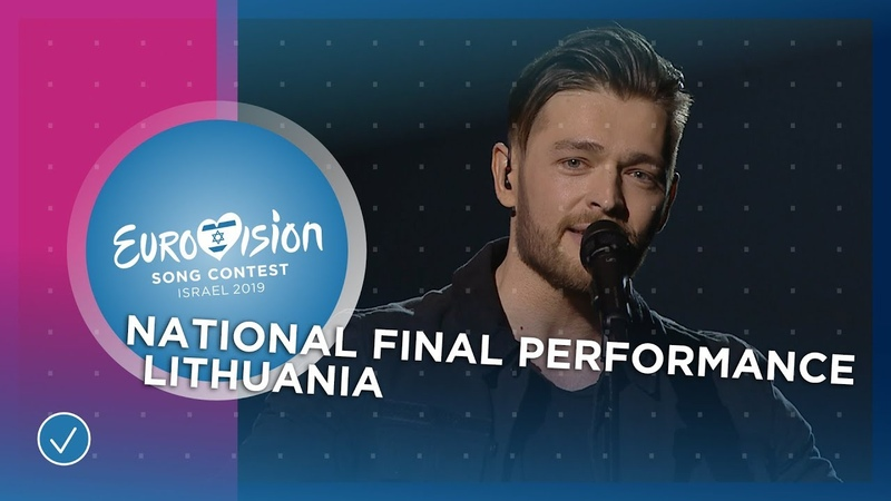 Jurijus Run With The Lions Lithuania 🇱🇹 National Final Performance Eurovision 2019