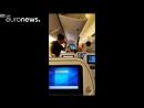 Liveleakcom Drunk passenger starts fistfight on crowded plane