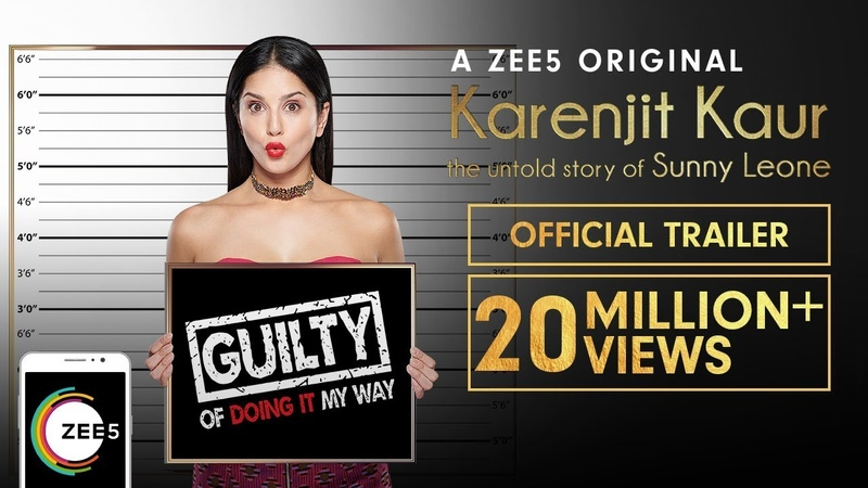 Karenjit Kaur The Untold Story of Sunny Leone Uncut Trailer Now Streaming on ZEE5