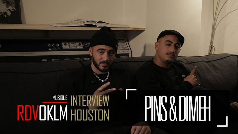 PINS DIMEH Houston - RdvOKLM (Interview) {OKLM TV}