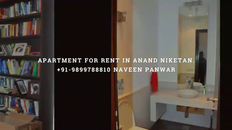 Furnished apartment for rent in Anand Niketan