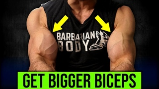 5min Home BICEPS Workout (HERE'S HOW TO GET BIGGER BICEPS!!)