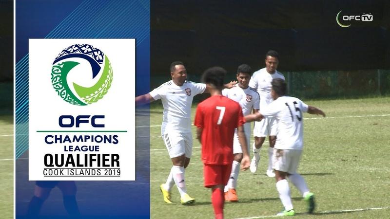 2019 OFC CHAMPIONS LEAGUE QUALIFIER HIGHLIGHTS Loto Ha'apai United v Kiwi FC
