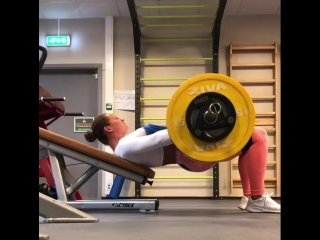 Christina Strom Fjaere - ягодичный мостик