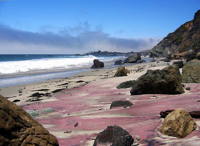 Пфайфер - пляж с фиолетовым песком, изображение №2