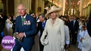 The Prince Charles and Camilla attend D-Day service at Bayeux Cathedral