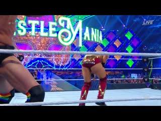 WH | Intercontinental Vs. The Miz and Finn Balor WrestleMania 34