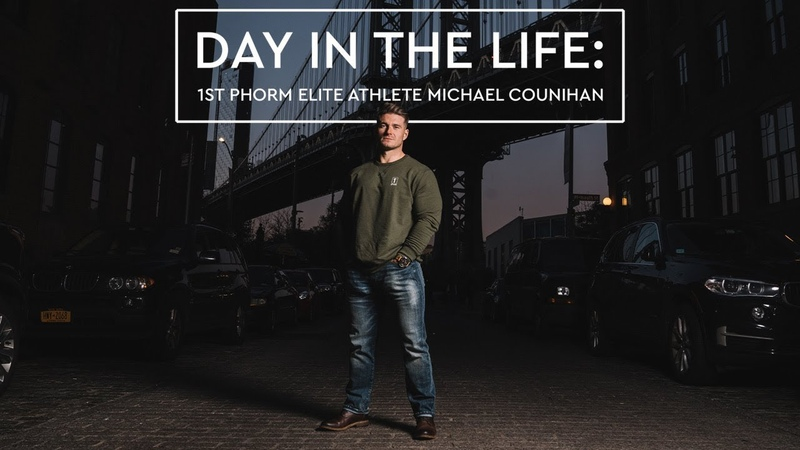 Day in The Life Elite Athlete Police Officer Michael Counihan
