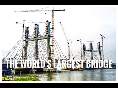 Tahya Misr Suspended Bridge A Miracle in Egypt