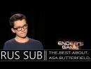 Enders Game 2013 Exclusive_ Asa Butterfield