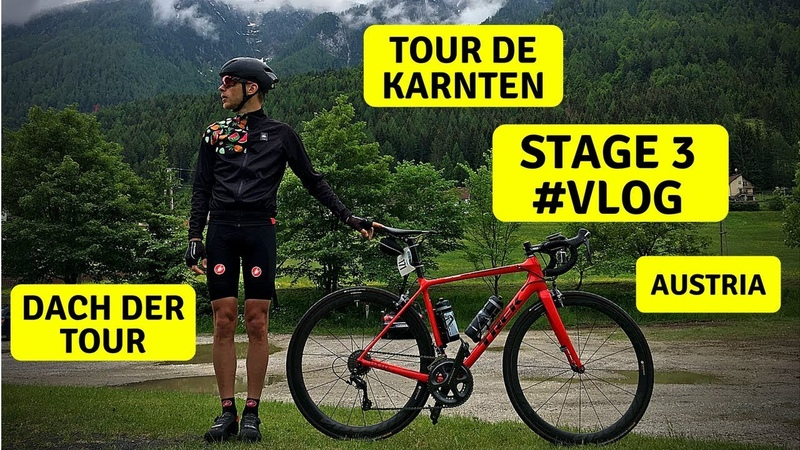 Велогонка Tour de Karnten | Dach der Tour | 3 Stage | Cycling Race with Telemetry | VLOG