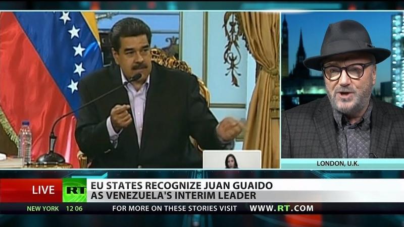 EU countries recognize Juan Guaido as Venezuelan interim president