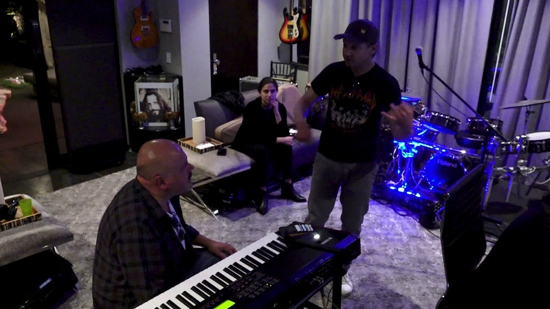 Jeremy Renner Songwriting with Walter Afanasieff Brandon Sammons