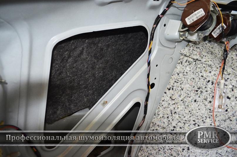 Шумоизоляция Lada Granta, изображение №14