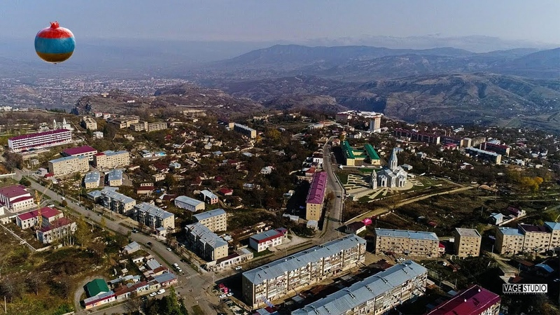Армянские города Шуши