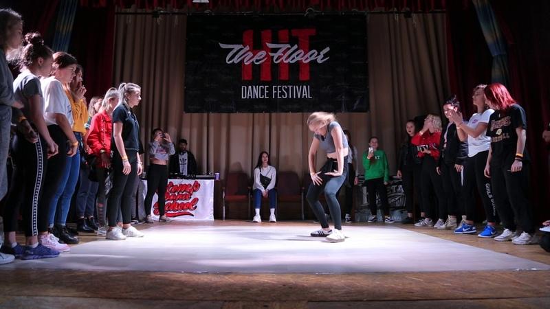Hit The Floor vol 4 dancehall beginners 1 2 Aser win vs Lina