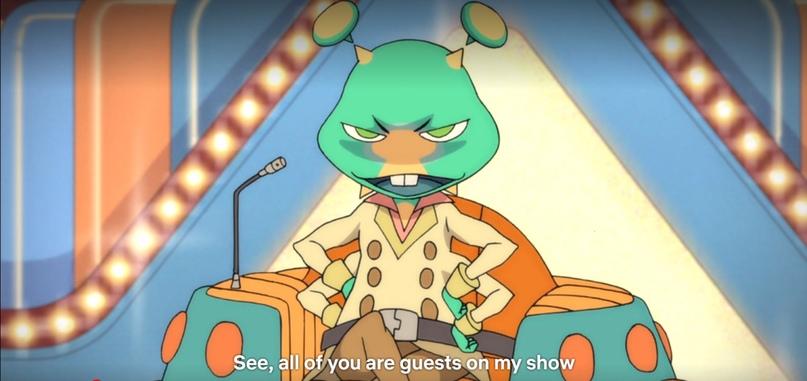 «Итак, все вы гости на моём шоу…»