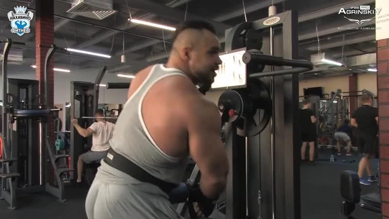 Тренировка плеч и трапеций на МАССЕ с Владимиром Агринским