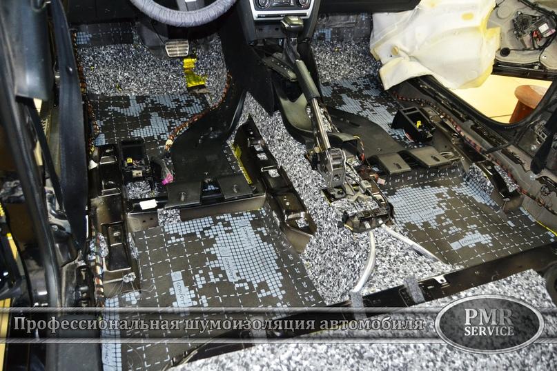 Комплексная шумоизоляция Skoda Octavia A5, изображение №5