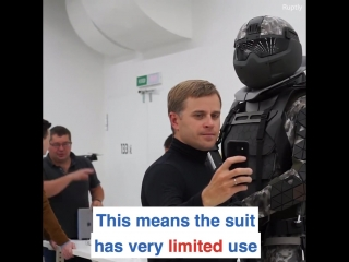Russia this super suit could be the soldier of the future!