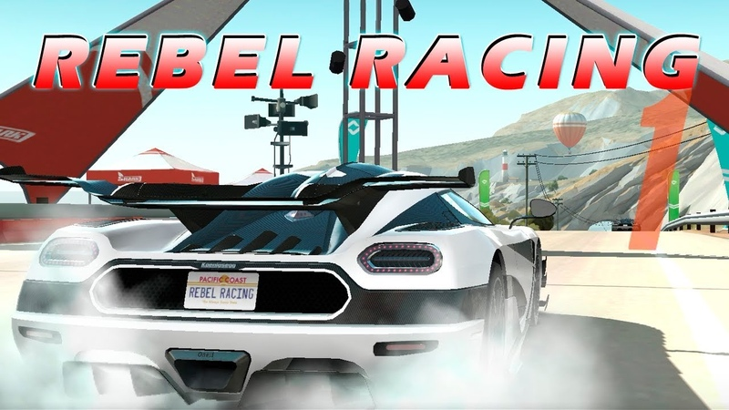 Rebel Racing - Collect, customize and upgrade supercars   Gameplay iOS