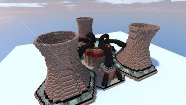 атомный реактор майнкрафт #5