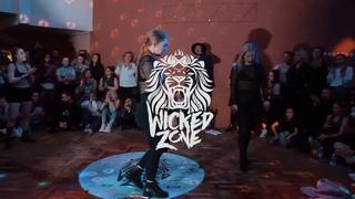 WICKED ZONE 2019  DANCEHALL 2x2  BLACK ROGEN vs DASHA and NASTIA FINAL