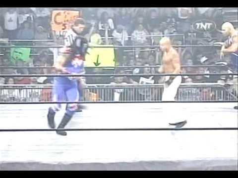 Psychosis Villano V vs Konnan Rey Mysterio Jr WCW Thunder 1999 06 10