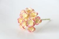 Цветы вишни средние - желтый + розовый  5 шт - 28 руб  диаметр цветка 1,5-2см высота цветка 1 см длина стебля 7 см