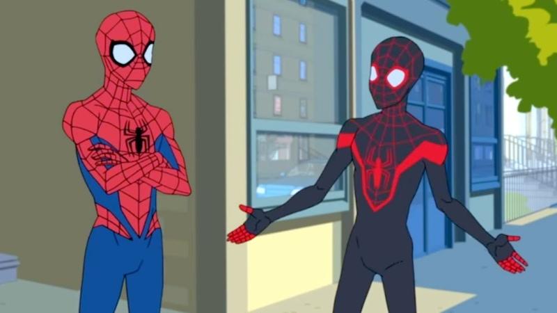 Marvel   Человек паук 2017   сезон 1 серия 10 - Совершенный Человек-Паук