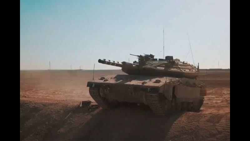 Израиль перебросил танки «Меркава» на границу с Ливаном, ливанская армия «встречает» с РПГ