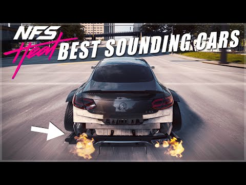 Need For Speed Heat's Best Sounding Cars Perfect Turbo Spools Turbo Blow Off Backfires 4K
